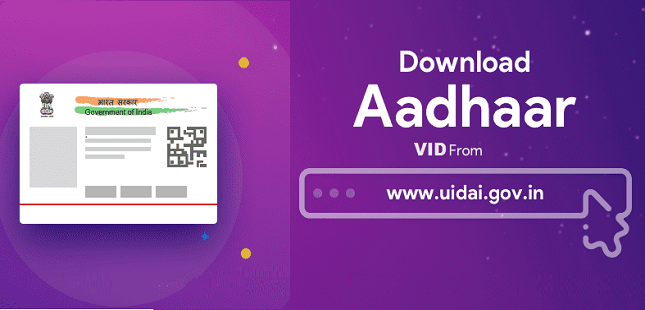 How to Generate Aadhar Virtual ID Number Process In Hindi