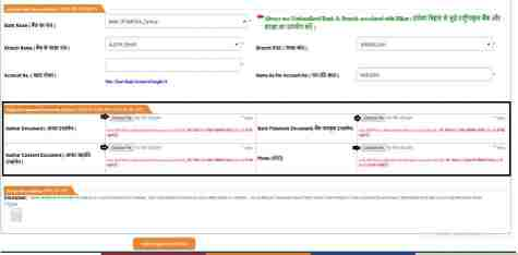 Mukhyamantri Vriddhjan Pension Yojana Application Form