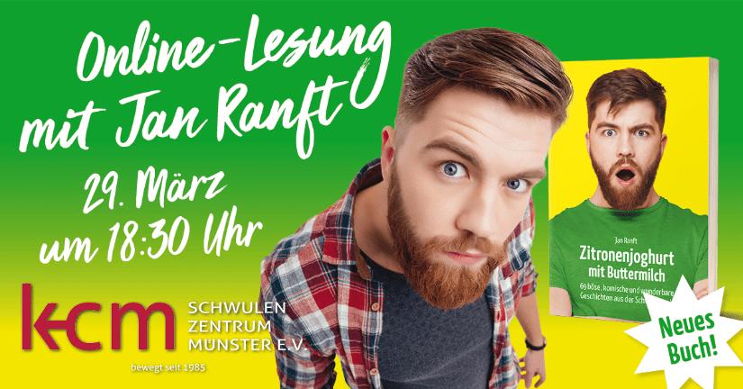 Live Online-Lesung mit Jan Ranft