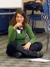 Trainer Jennifer Kobylecky from the Aldo Leopold Foundation