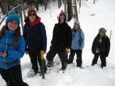 Ashley Marie, Matt, Jaimeson, Maddie G., and Fritz pause for a photo.