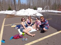Northwoods Spring Beach Day!
