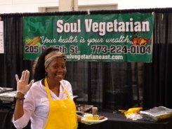Amazing Vegan Ribs from Soul Vegetarian at Green Festival Chicago
