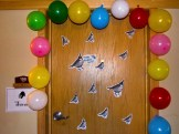 A happy birthday surprise from friends