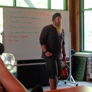 Field Instructor Matt Norwood