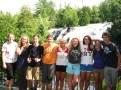 Group at Bond Falls