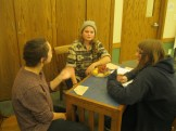 Allie, Sarah and Taylor role play a mediation.