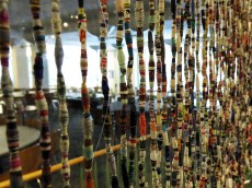 A few of the student-made beads