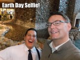 Matt and Stefan's Earth Day selfie!