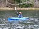 14-05-22 End of Day blue wilderness kayak