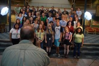 Jeff Rennicke taking the Group Photo