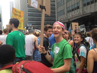 CS7 alum Zach from the Green Schools Alliance