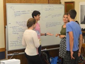 Discussing proposed language
