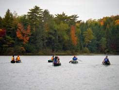 14-09-25 Sylvania FS Little Bateau 5 canoes