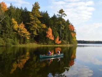 On Big Bateau Lake