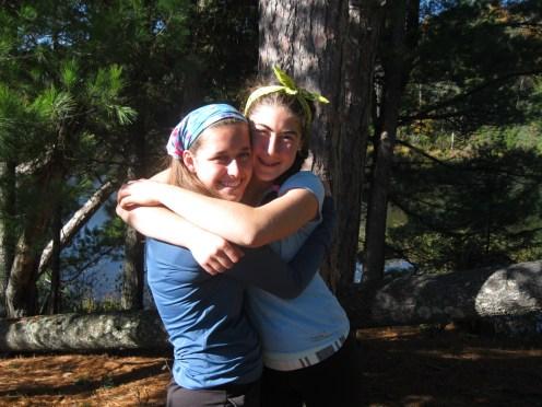 14-10-16 Hannah R and Sarah