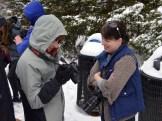 Hannah Stonehouse Hudson helping Jesse