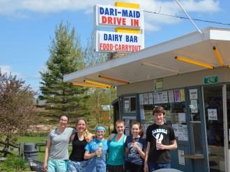 At the Dari-Maid Drive-In