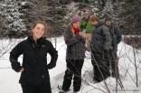 16-02-03 Sylvania Snowshoe 19 Shore Big Bateau
