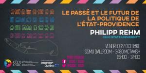 Série de conférences: Philipp Rehm @ Salle de bal, Centre Universitaire, Université McGill | Montreal | Quebec | Canada