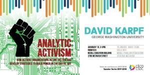 Séries de conférences: David Karpf @ Salle 624, Pavillon des Sciences de l'éducation, Université McGill  | Montréal | Québec | Canada