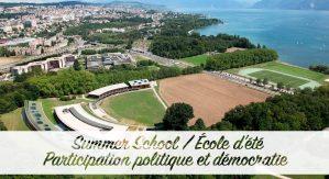 École d'été - Participation politique et démocratie @ Université de Lausanne, Suisse