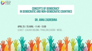 Concepts of democracy in democratic and nondemocratic countries @ LEA927