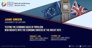 Série de Conférences - Jane Green @ Salle C-2059, Lionel Groulx, UdeM
