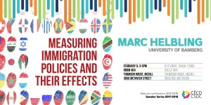 CSDC Speaker Series: Marc Helbling @ Room 404, Thomson House, McGill University | Montreal | Quebec | Canada