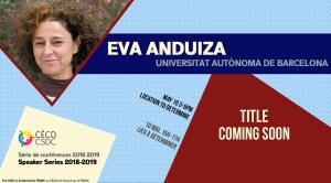 Speaker Series: Eva Anduiza