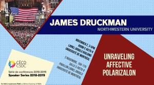 Speaker Series: James Druckman @ Salle C-6070-9, Pavillon Lionel Groulx - Université de Montréal | Montréal | Québec | Canada