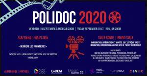 """Polidoc 2020 - """"Derrière les frontières"""" @ Zoom"""
