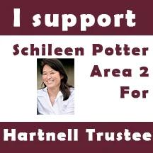 I support Schileen Potter, Area 2