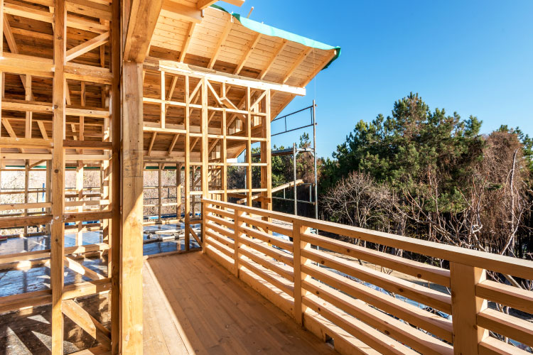 Wood-frame construction advantageous in areas prone to seismic ...