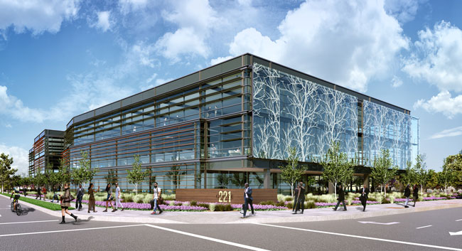 SmithGroupJJR Designs New Silicon Valley Office Building Featuring Glass  Artwork On Façade