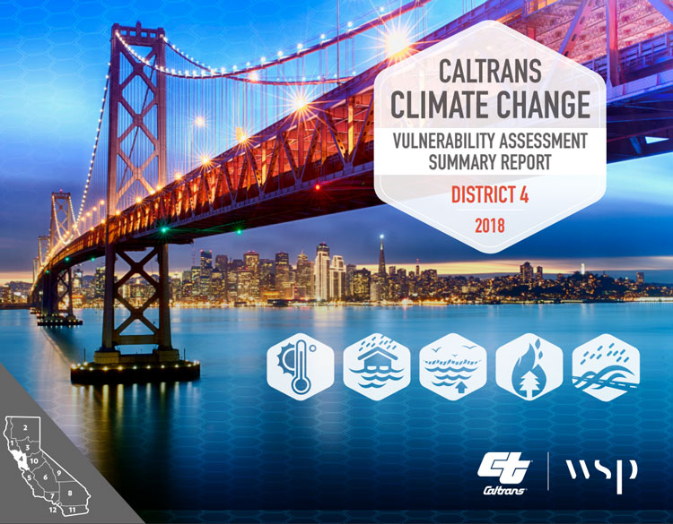 Caltrans releases first Climate Change Vulnerability Assessment