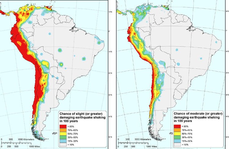 USGS issues report on seismic hazard, risk, and design for ...