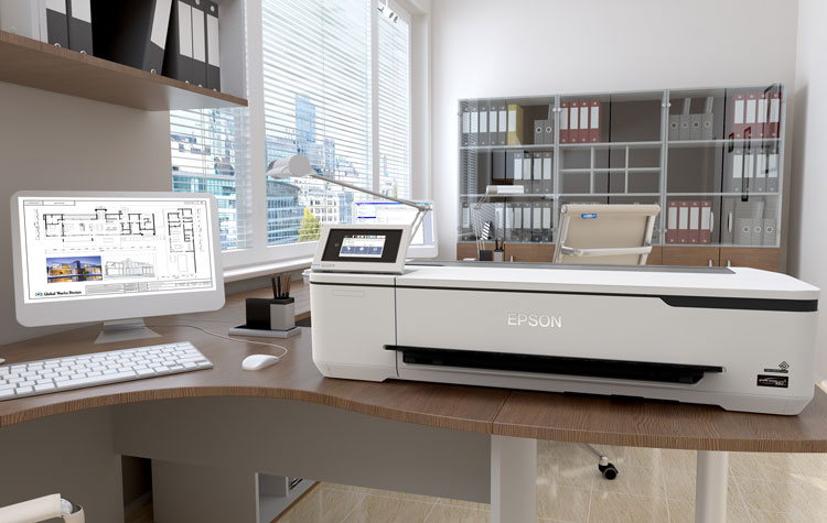 Epson ships wireless technical printers | Civil + Structural