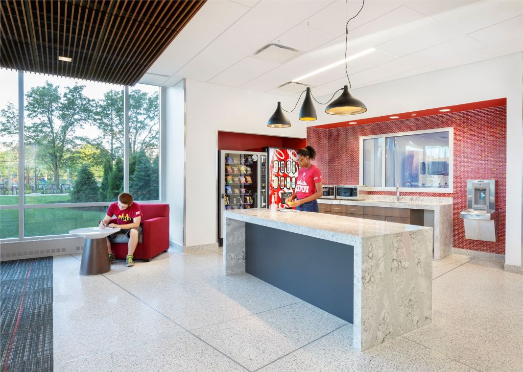 Healthy Residence Halls Promote Student Physical Activity, Utilize