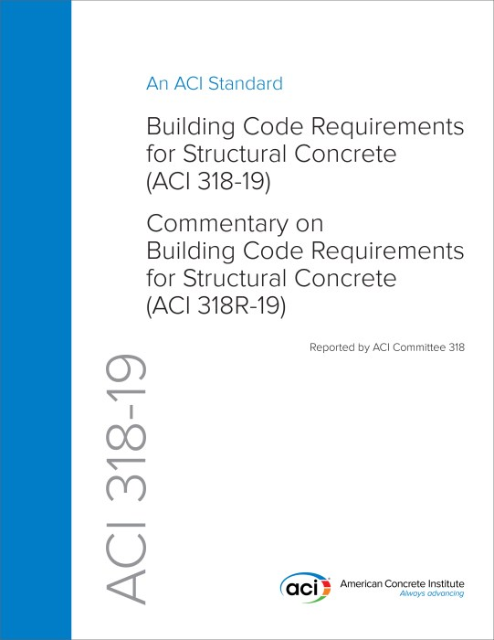 What S New In Aci 318 19 Building Code Requirements For Structural Concrete Civil Structural Engineer Magazine