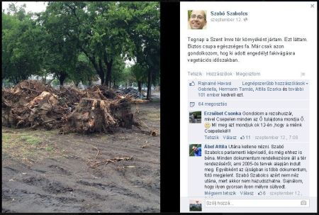 Fakivágás Szabó Szabolcs