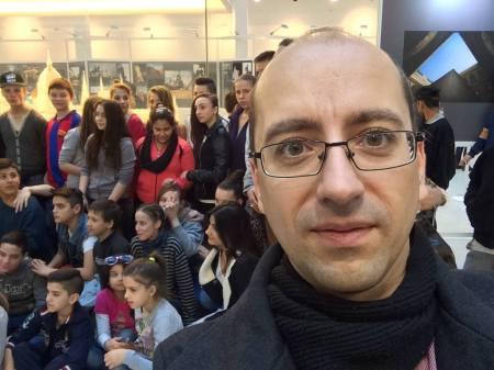 Szabó Szabolcs gyerekekkel