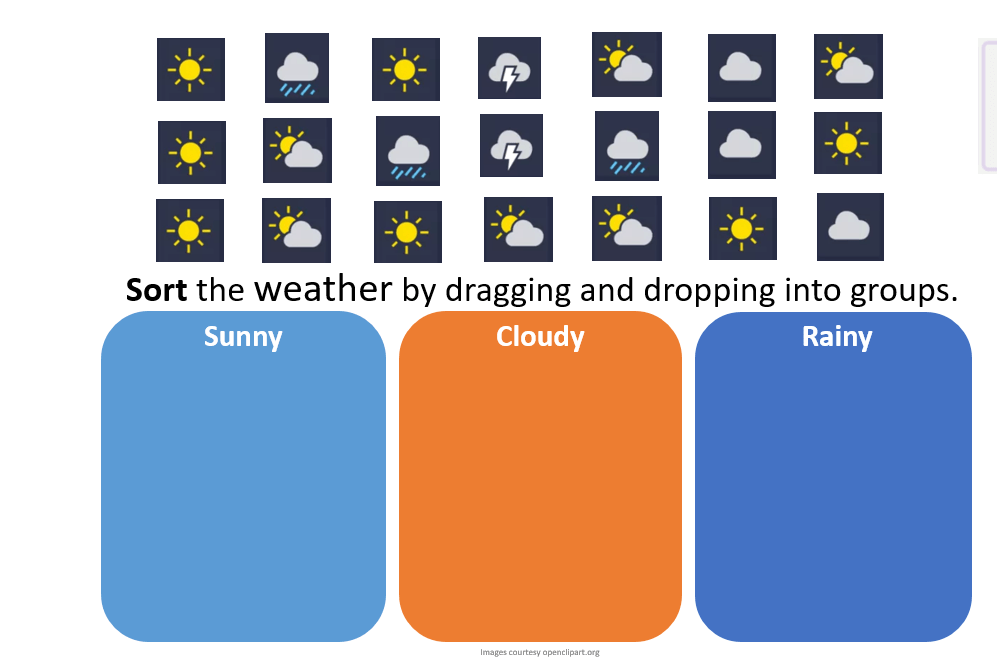 Task 2 – Patterns and Play with the weather