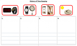 Task 4 Digital Systems: Option 3 – past and present technologies (time telling)