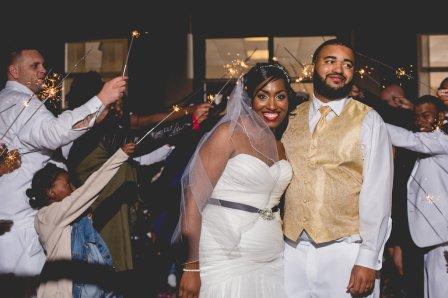 Sherea and Brandon Wedding Reception at Goodale Park, Columbus Ohio.