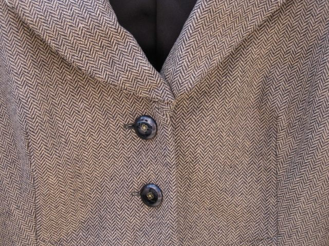 "Tweed Jacket with ""Divine Details"""