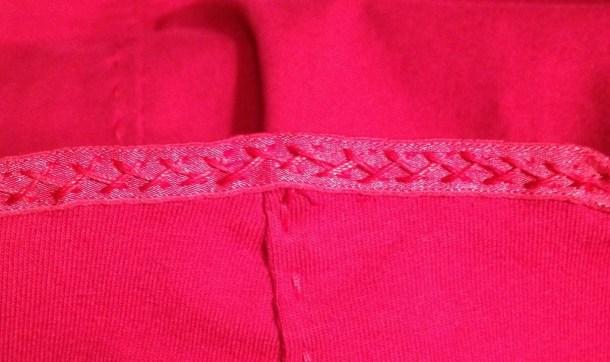 Herringbone stretch stitch