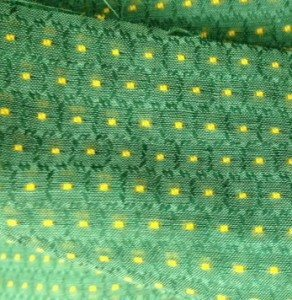 Vintage Swiss dot voile