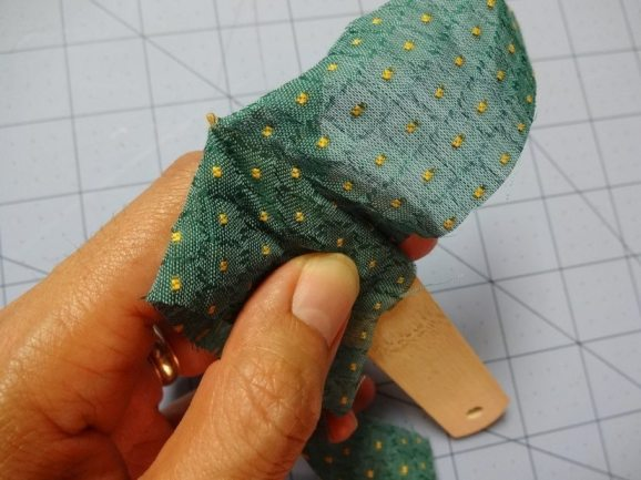Test fabric with point turner