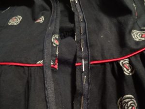 Marking zipper - Emery Dress - csews.com